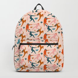 Nymphs pattern Backpack