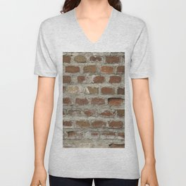Texture #3 Bricks Unisex V-Neck