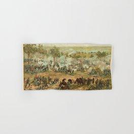 Civil War Battle of Gettysburg July 1-3 1863 by Paul Philippoteaux Hand & Bath Towel