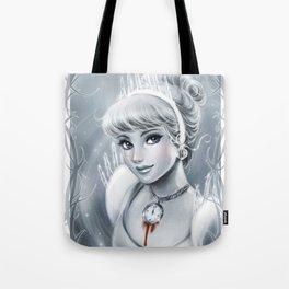 Clock Girl Tote Bag