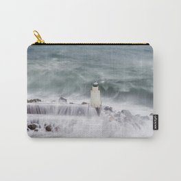 Camogli, the lighthouse in the storm Carry-All Pouch