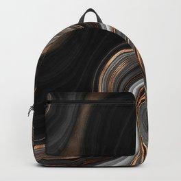 Glowing Marble Waves  Backpack