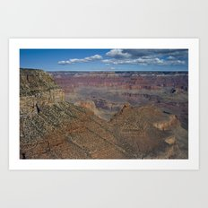 The Grand Canyon Dry Color Art Print