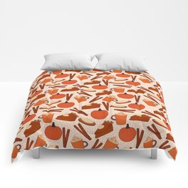 Pumpkin Fanatic Comforters