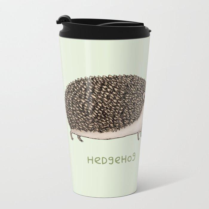 Hedgehog Hedgesprog Metal Travel Mug