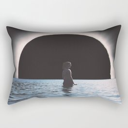 Full Eclipse  Rectangular Pillow