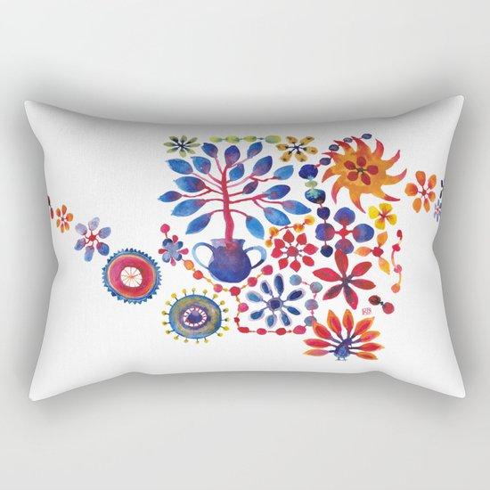MAGIC TREE ON WHITE Rectangular Pillow
