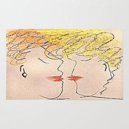 The Kiss Rug