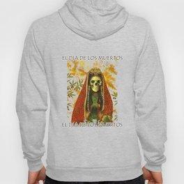 El Dia De Los Muertos Gothic Decorative Skeleton Hoody