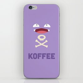 Koffee iPhone Skin