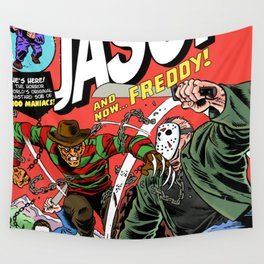 The Invincible Jason vs Freddy Wall Tapestry