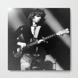 KeithRichards Rolling Stones Rotterdam Ahoy 1973 Metal Print