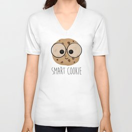 Smart Cookie Unisex V-Neck