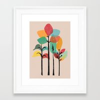 tropical Framed Art Prints featuring Tropical Groove by Picomodi