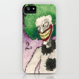 Clown Number 2 iPhone Case