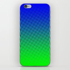 80's grade blue iPhone & iPod Skin