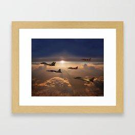 The Flight Home Framed Art Print