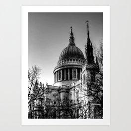 St Pauls, London Art Print
