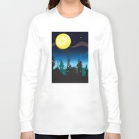cheese Long Sleeve T-shirts featuring It must be Cheese by mangulica illustrations