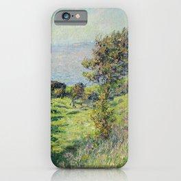 """Claude Monet """"Coup De Vent"""" iPhone Case"""