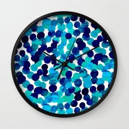 Gracie Spot Blue Wall Clock