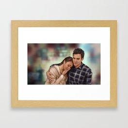 Vingt-et-un - Emma Approved Framed Art Print