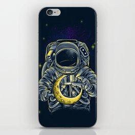 Moon Keeper iPhone Skin