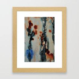 The Frail Framed Art Print