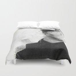 Faceless | number 01 Duvet Cover