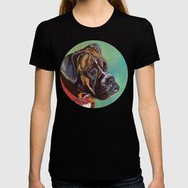 Boxer Dog Keeley Pet Portrait T-shirt
