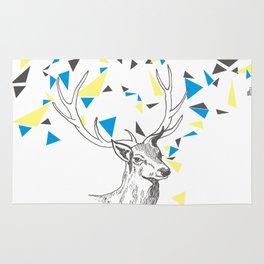 Rainbow Collection / deer Rug