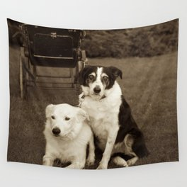 Looking after baby Wall Tapestry