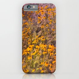 Yellow Jungle iPhone Case