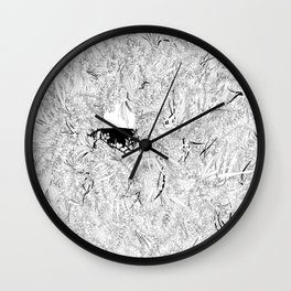 Where are the stagnant waters Wall Clock