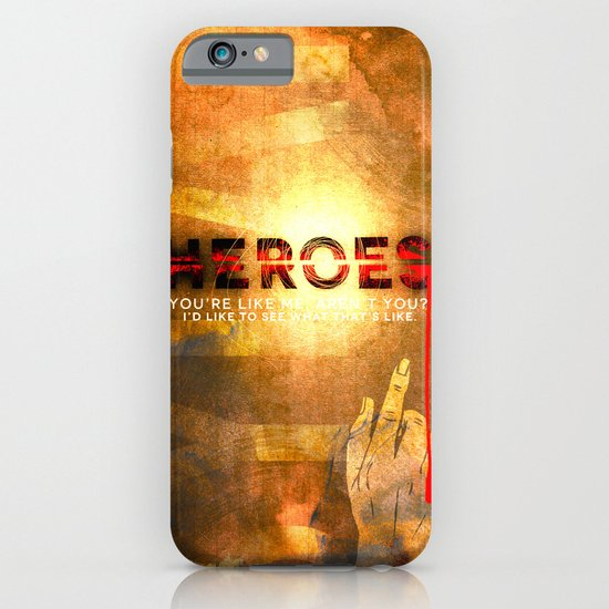 HEROES iPhone & iPod Case