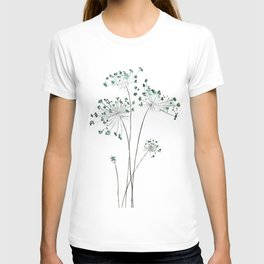 wild carrot watercolor T-shirt