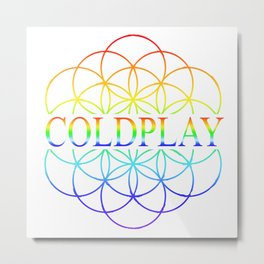 Codplay Metal Print