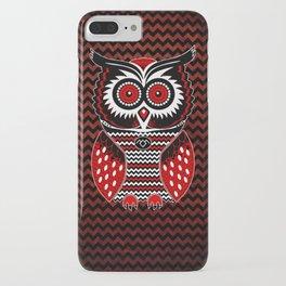 Twin Owl Peaks iPhone Case