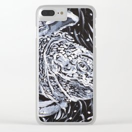 PORTRAIT OF A TURTLE Clear iPhone Case