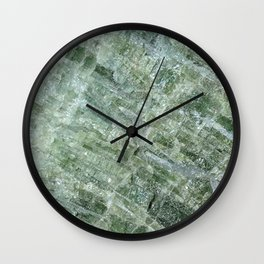 Green Tourmaline Wall Clock