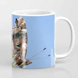 Red Admiral Butterflies Mating Coffee Mug