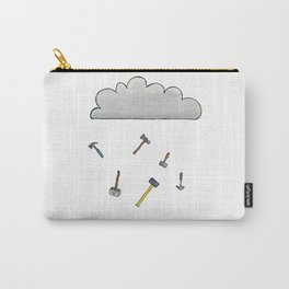 It's Raining Hammers Carry-All Pouch