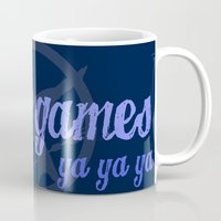 lorde Mugs featuring Ya Ya Ya Hunger Ya Ya Ya Games - Blue by Hrern1313