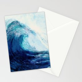 Waves II Stationery Cards