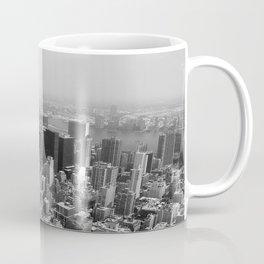 New York City Black and White Coffee Mug