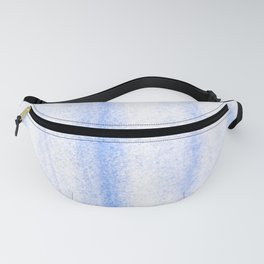 Crystal Blue Fanny Pack