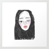 Babe #38 Art Print
