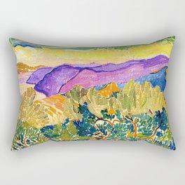 THE FAUVE LANDSCAPE Rectangular Pillow