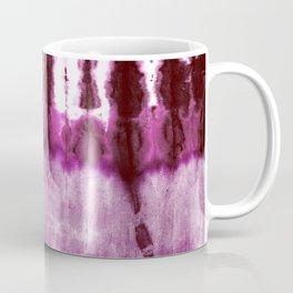 Boho Beet Shibori Coffee Mug