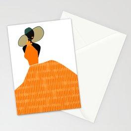 Midnight Citrus - Lady No 01 Stationery Cards